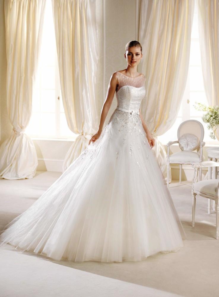 Продам новое свадебное платье la sposa imani, размер 12uk. фото №1