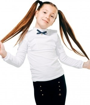 Школьная форма smil блуза с рюшами 5488 фото №1