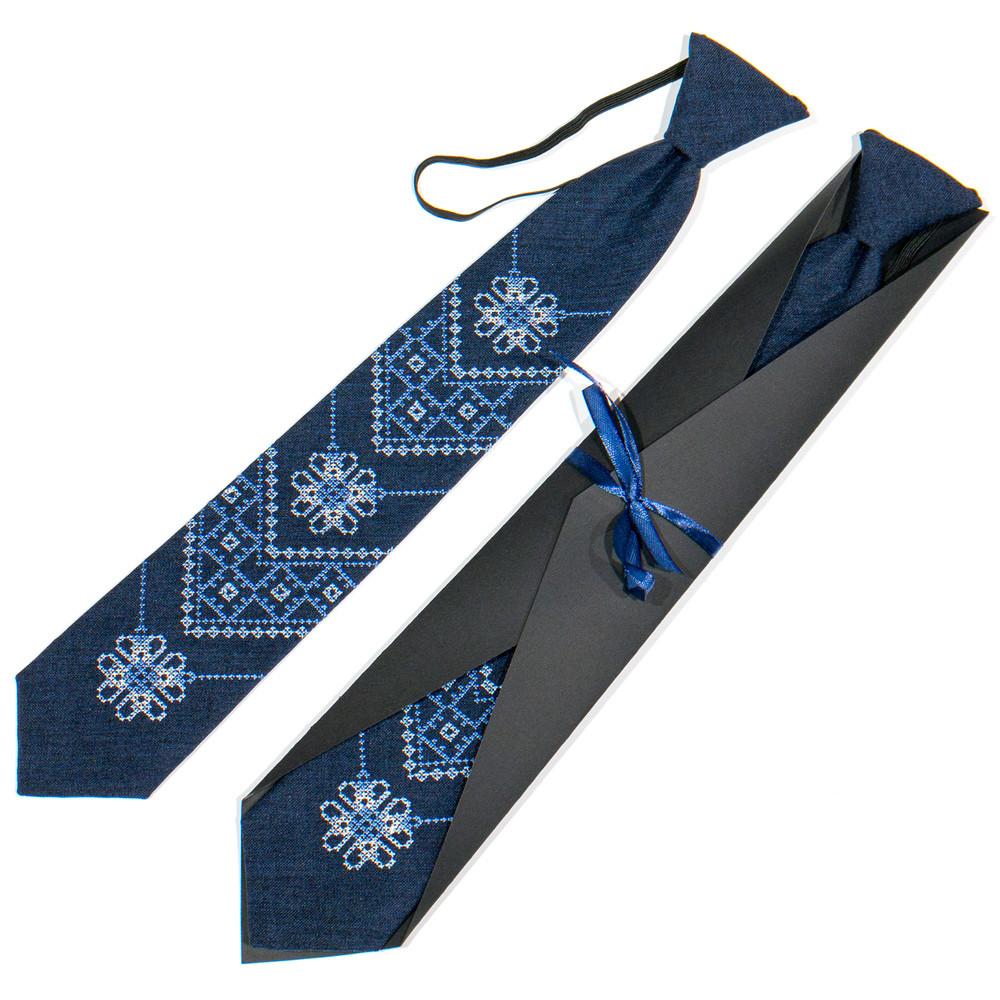 Підліткова вишита краватка фото №1