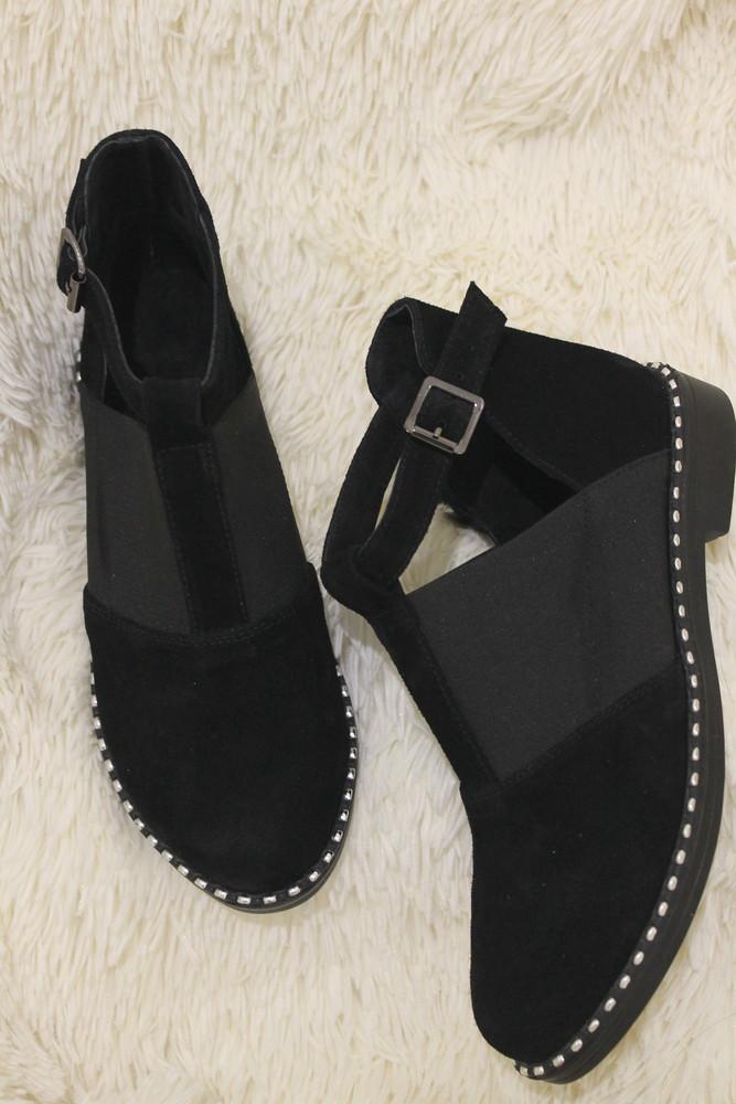 Туфли - ботинки, натуральные материалы, с 36-41р фото №1