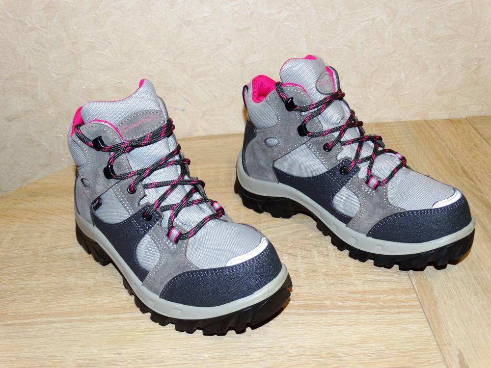 Р.34-35 треккинговые ботинки quechua , 22,5 см. по стельке фото №1