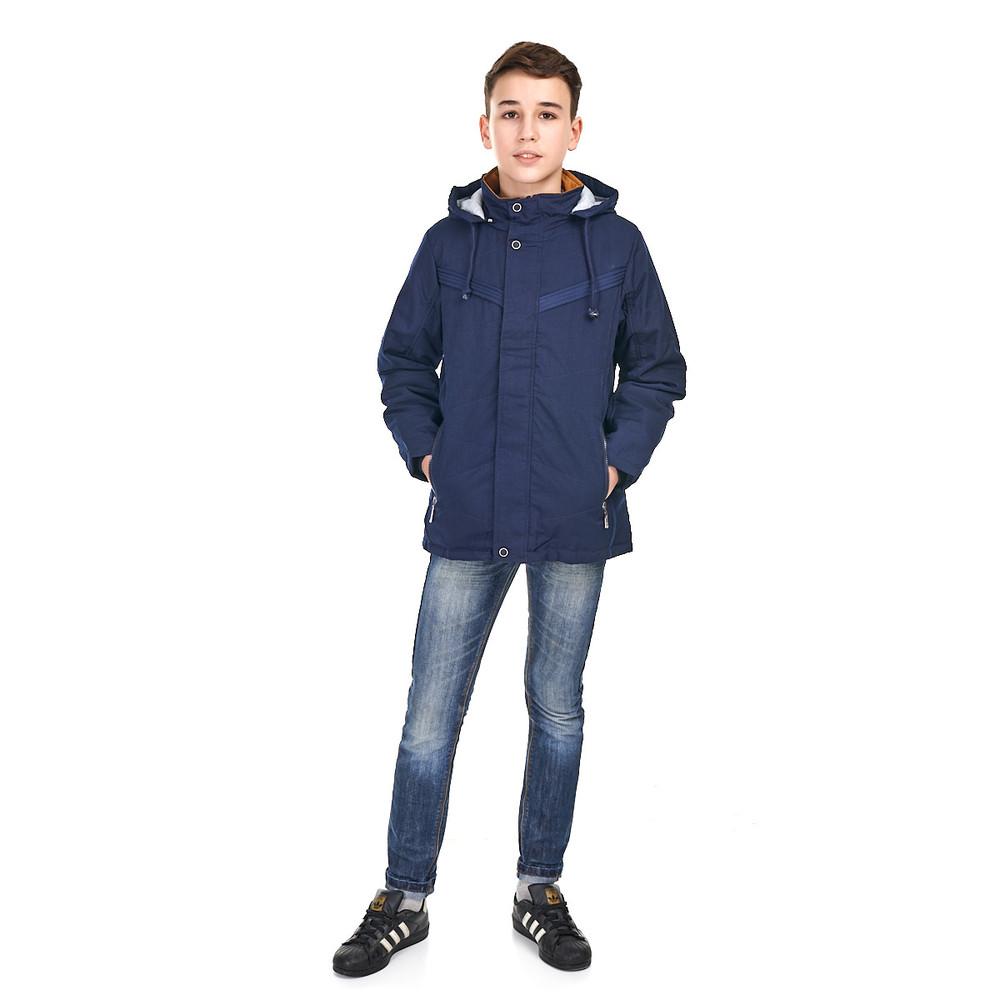 Стильная весенняя куртка на мальчика от 9 до 15 лет, фото №1