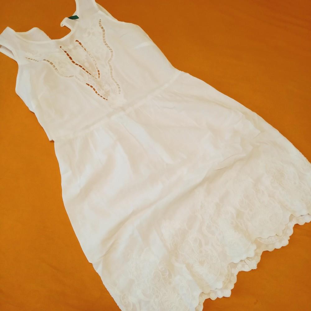 Шикарное лёгкое платье benetton фото №1