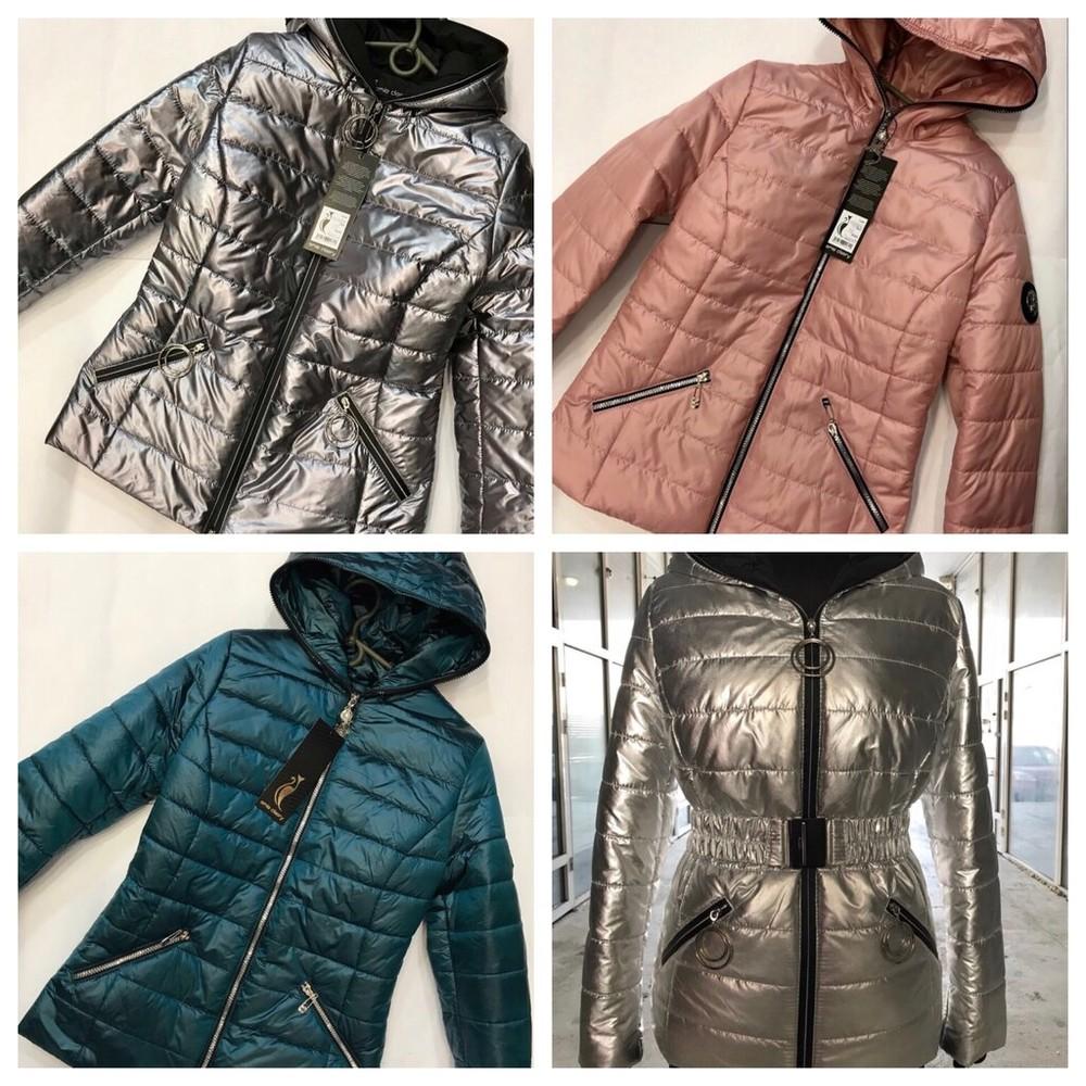 Внимание! реально отличное качество! ликвидация остатков! весенняя куртка для девушек! фото №1