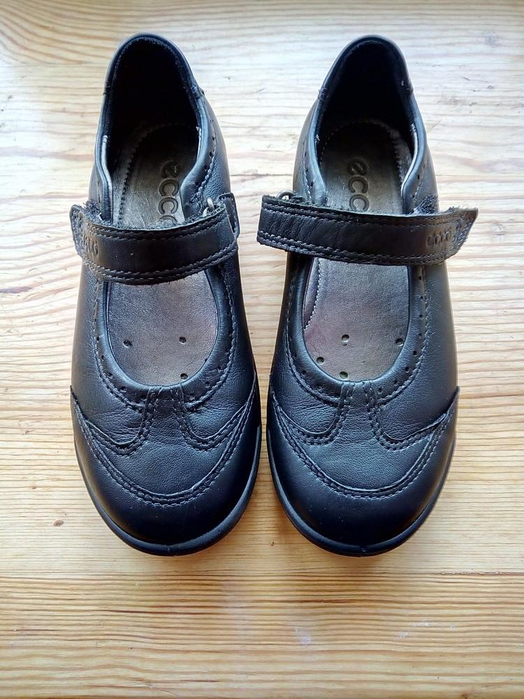Туфельки ecco 28й размер, по стельке 18.5 фото №1