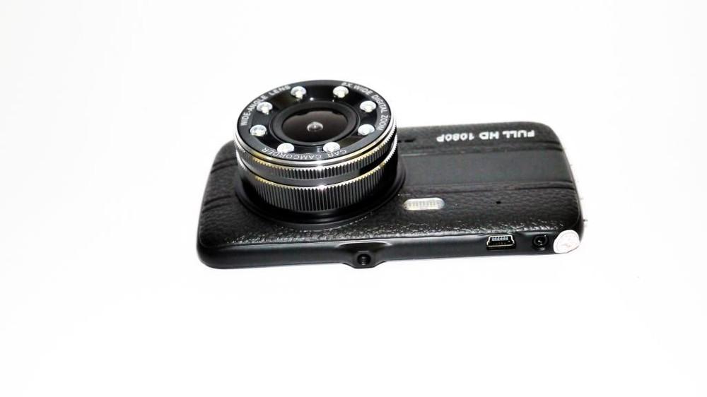 """Видеорегистратор dvr g520 4"""" full hd с выносной камерой заднего вида фото №1"""