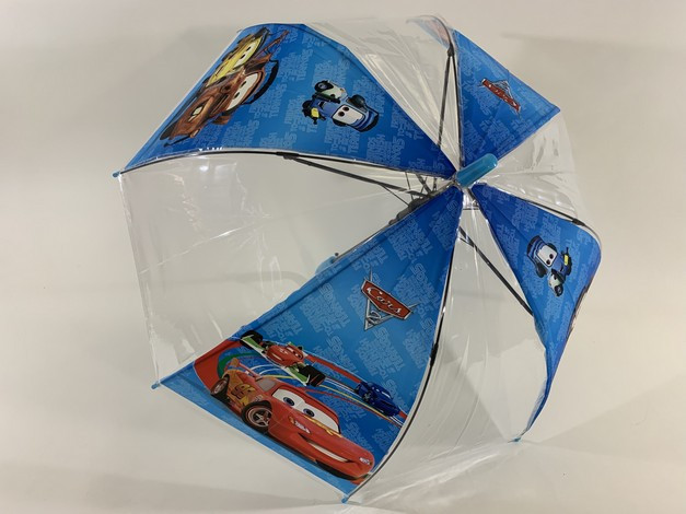 Яркий красивенный купольный зонт зонтик трость тачки для мальчика 3-7 лет фото №1