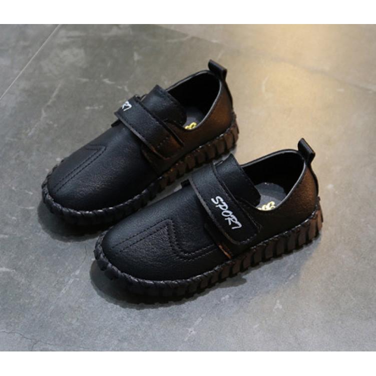 Черные модные спортивные туфли детские фото №1