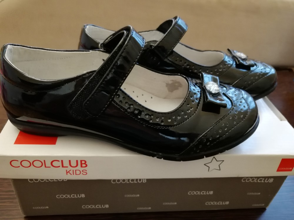 Туфли новые в школу, кожа, супинатор, смик. фото №1