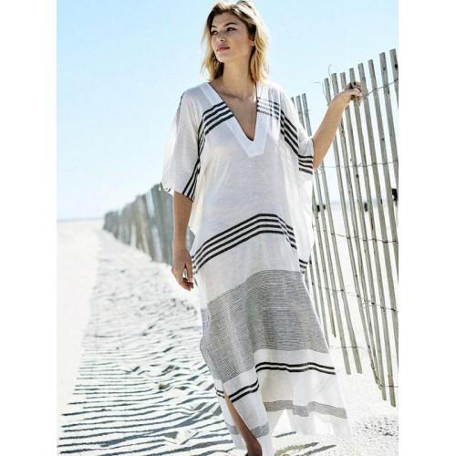 Пляжный халат. пляжная накидка. парео фото №1