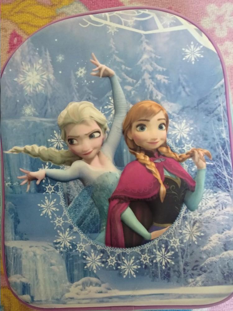 Рюкзак детский3d холодное сердце, эльза, frozen, анна дисней оригинал фото №1