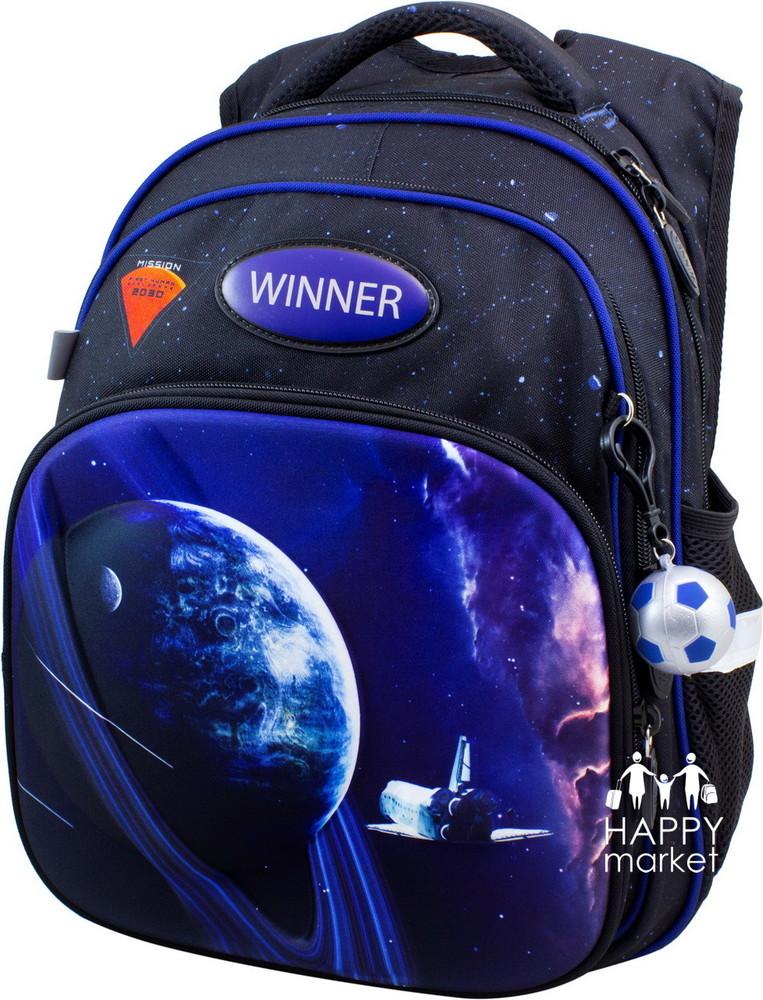 Рюкзак школьный ортопедический для мальчика winner stile гонка фото №1