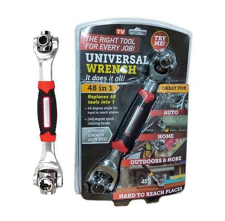 Универсальный гаечный ключ universal wrench 48 в 1 фото №1