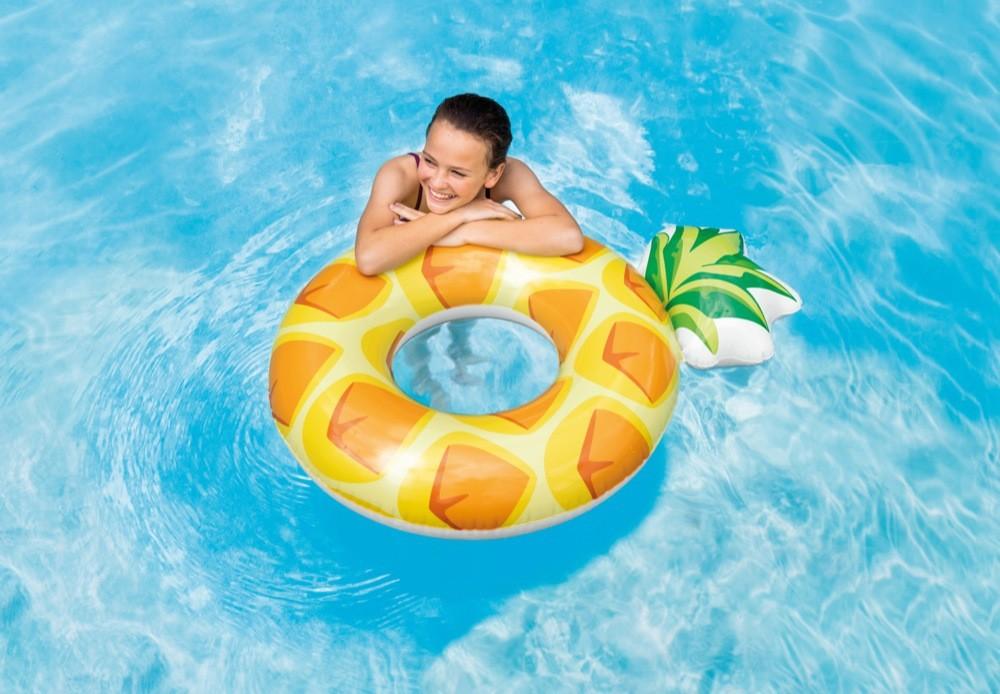 Круг ананас для детей и взрослых 56266 117х86см фото №1