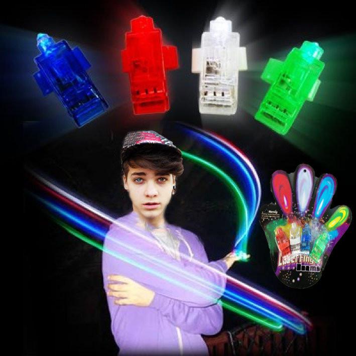 """Светящиеся насадки на пальцы, фонари на пальцы, (""""лазерные пальцы"""", """"led пальцы"""") фото №1"""