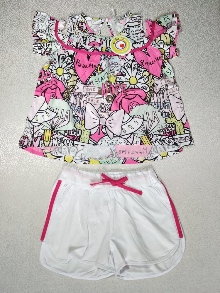 Комплект для девочки 6 лет, tobetoo италия. фото №1