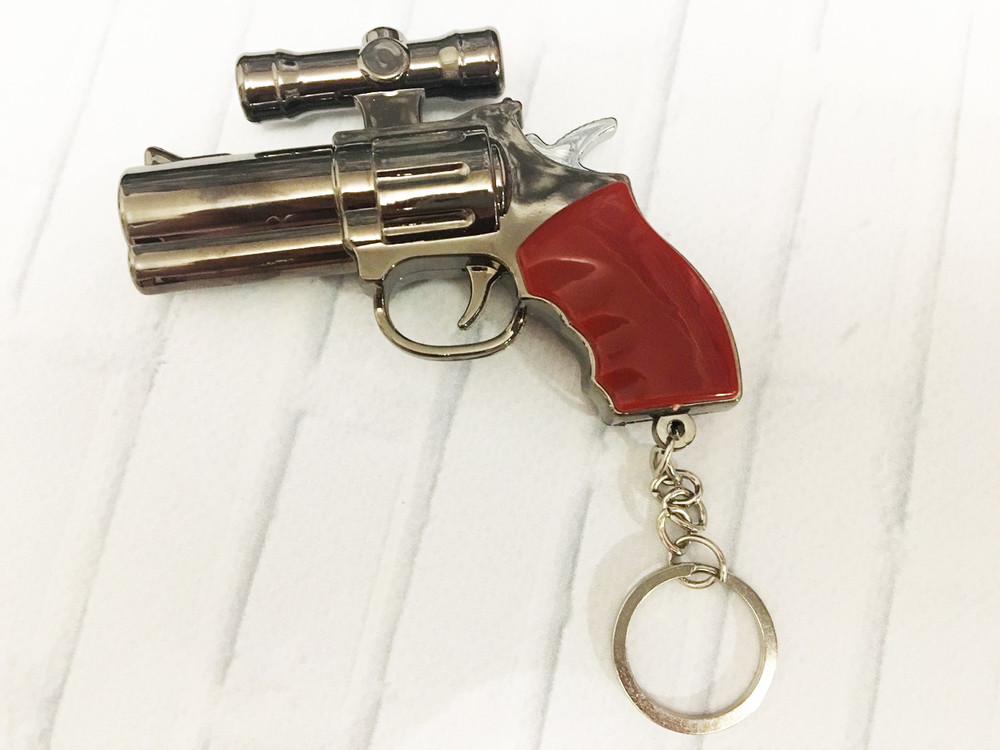 Брелок ,  фонарь ,  лазер, пистолет фото №1