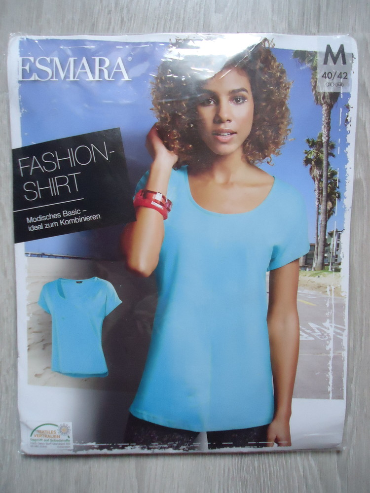 Женская футболка esmara германия, р. m (46/48) наш фото №1