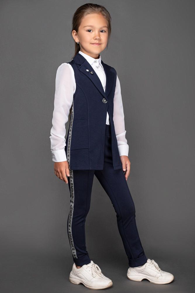 Пиджаки и костюмы в школу, 116-152 р. фото №1