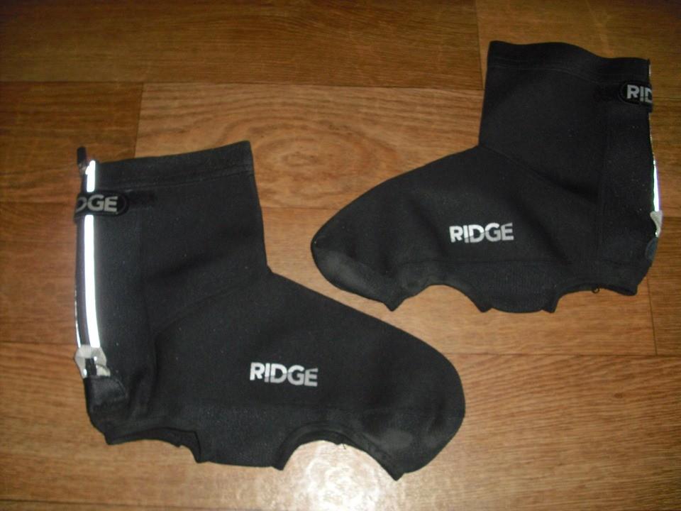 Неопреновые бахилы ridge для велосипедной обуви размер 43-46 фото №1