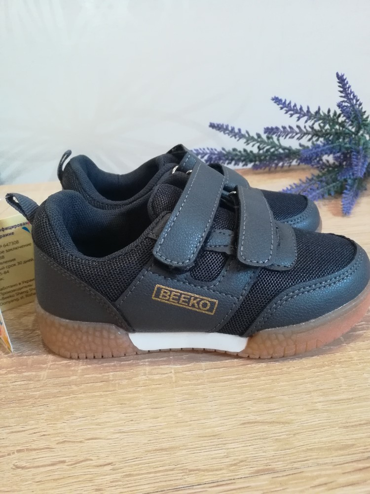 Кроссовки туфли для мальчика beeko 25-30р. фото №1