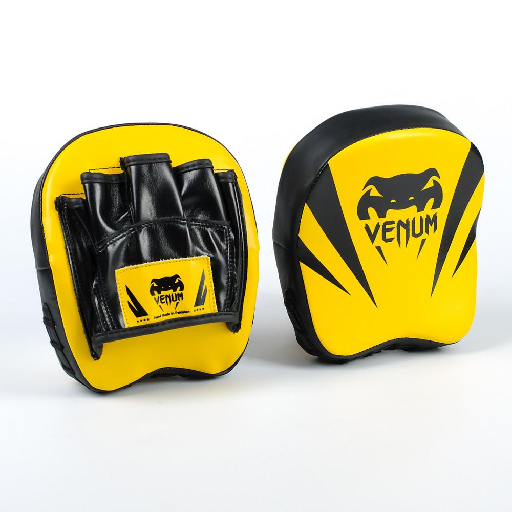 Лапа изогнутая боксерская venum flex 8325: 2 лапы в комплекте, размер 18x16x5см фото №1