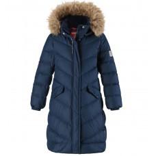 Зимнее пуховое пальто для девочки reima satu 531352 фото №1