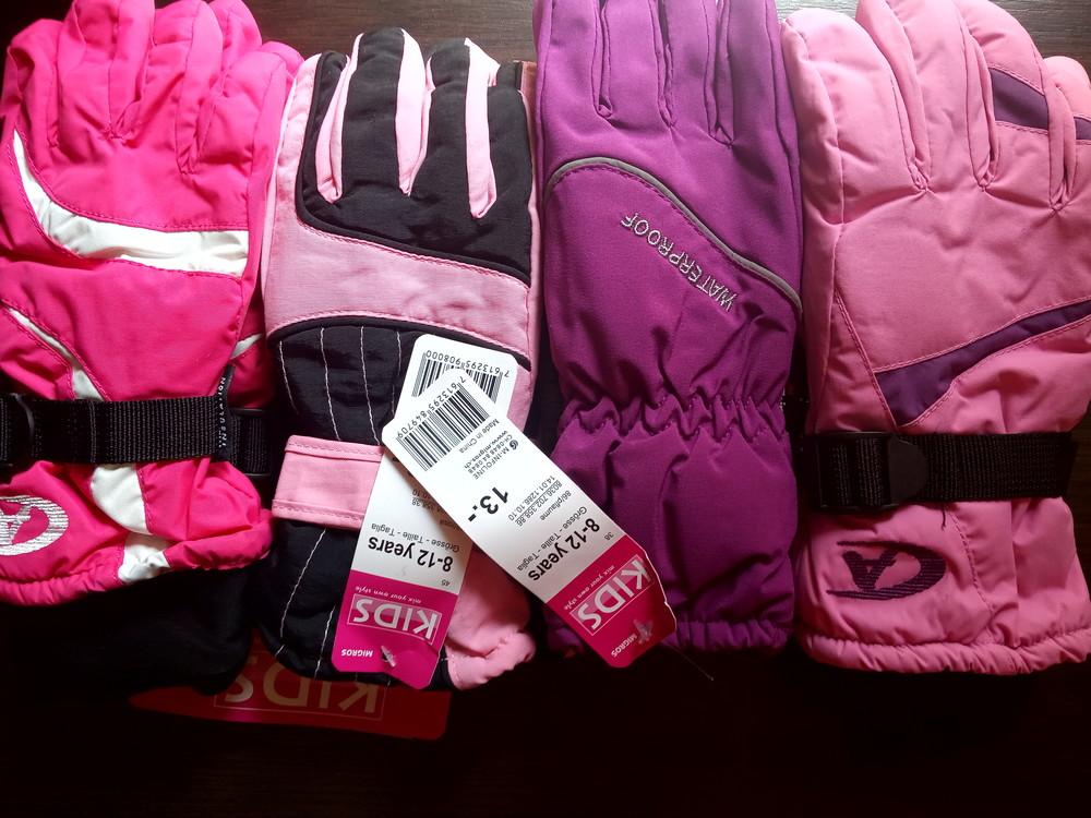 Распродажа!!! в сезон будет дороже.лыжные перчатки ( термо с  утеплителем insulation) 5-12 лет фото №1