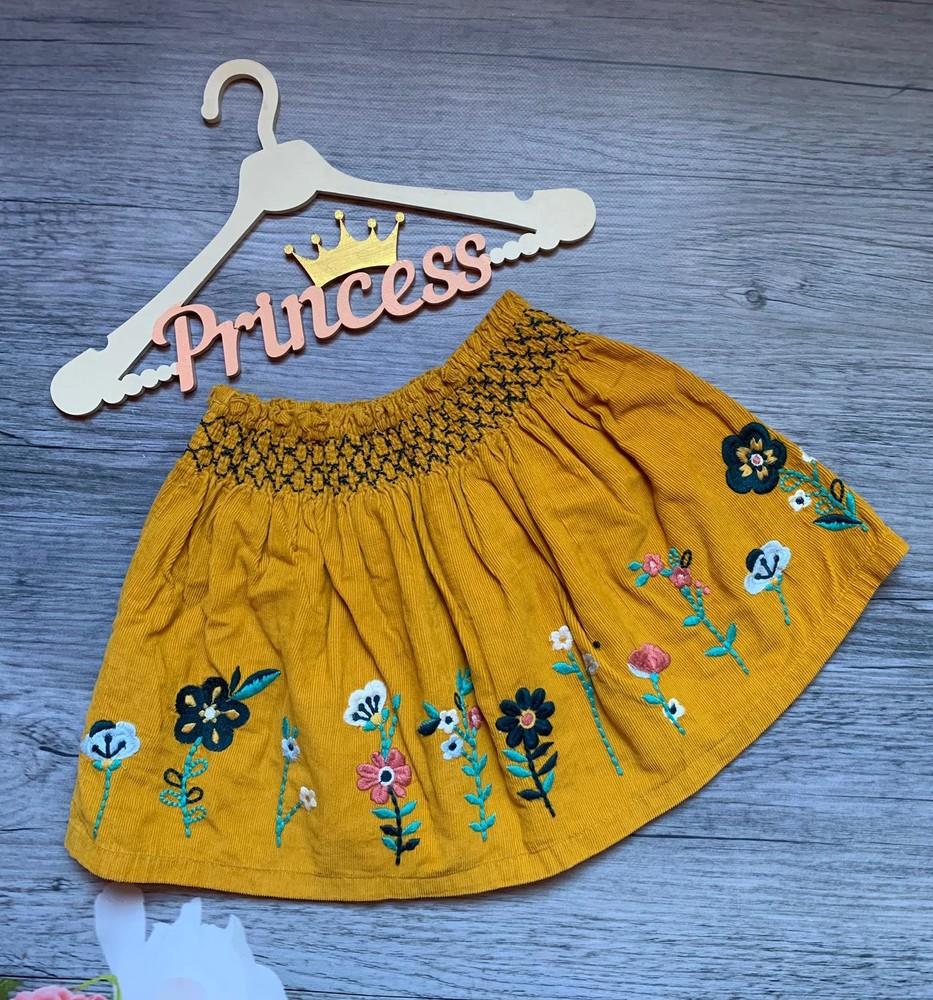 Очень красивая юбка с вышивкой фото №1