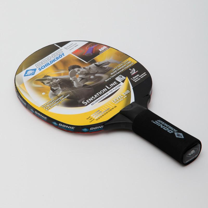 Ракетка для настольного тенниса donic level 500 sensation 714402 фото №1