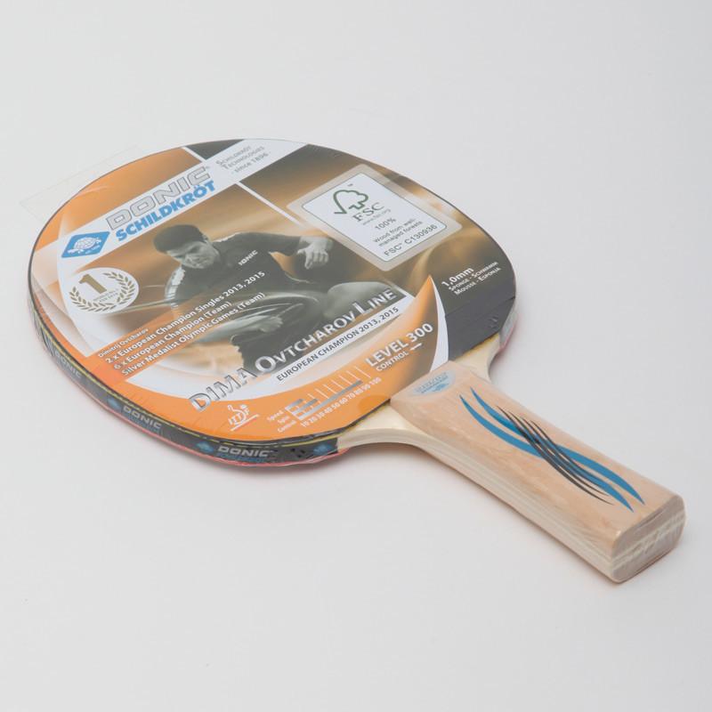 Ракетка для настольного тенниса donic level 300 ovtcharov 705232 фото №1