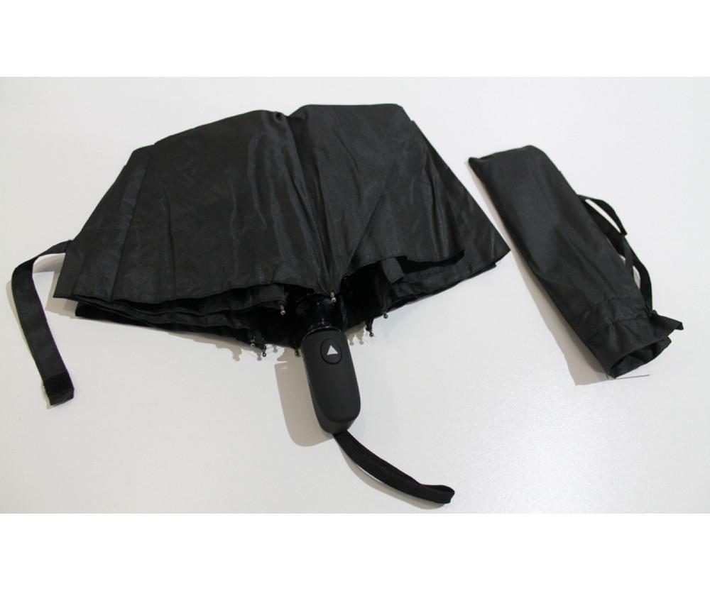 Мужской зонт полуавтомат в 3 сложения. венгрия. фото №1