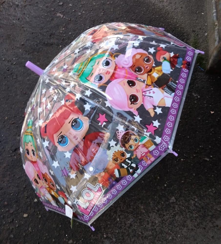 Зонтик дитячий з лол фото №1
