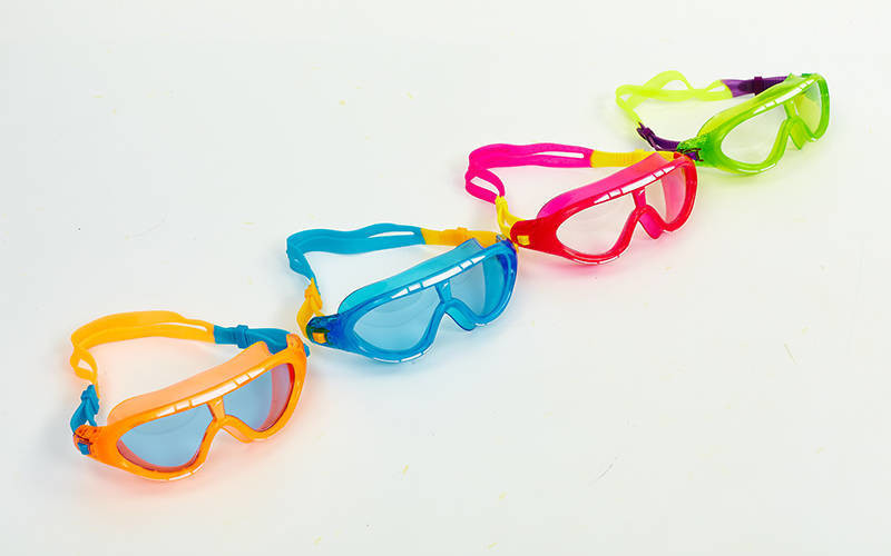 Очки для плавания детские (полумаска) speedo biofuse rift junior 138434: от 6 до 14 лет (4 цвета) фото №1