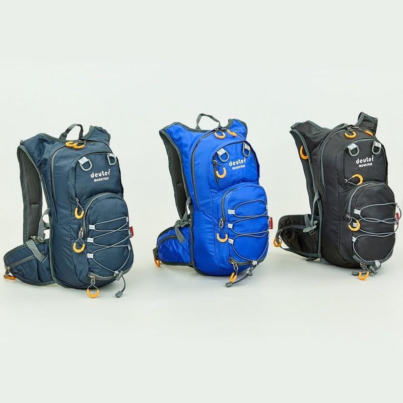 Рюкзак спортивный с жесткой спинкой deuter 801 (ранец спортивный): размер 44х20х11см, 15 литров фото №1