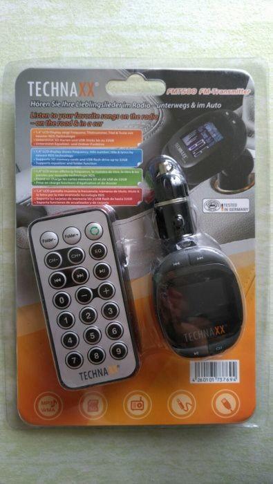 Fm трансмиттер technaxx® fmt500 фото №1