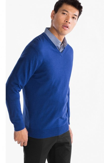 Мужской набор свитер+рубашка с-а фото №1