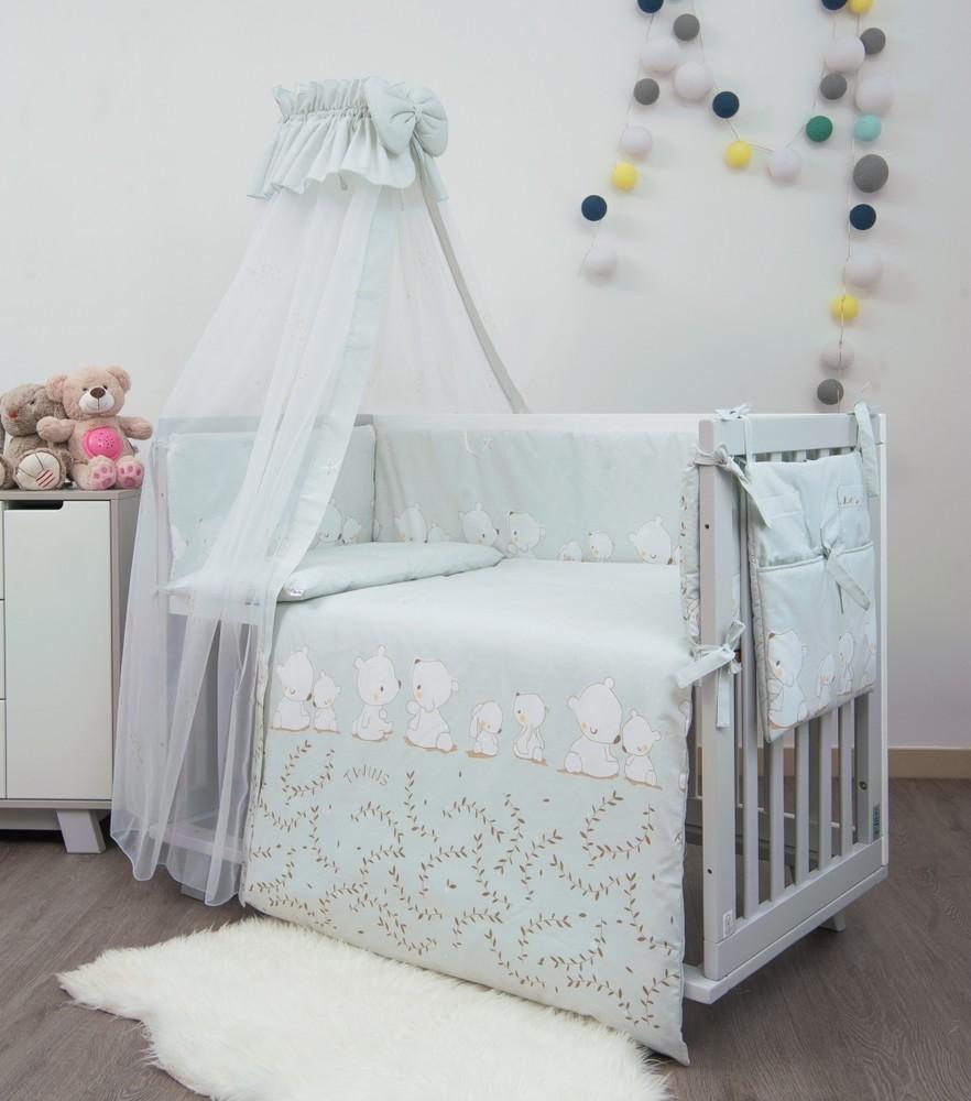 Детское постельное в кроватку sweet 8 предметов фото №1