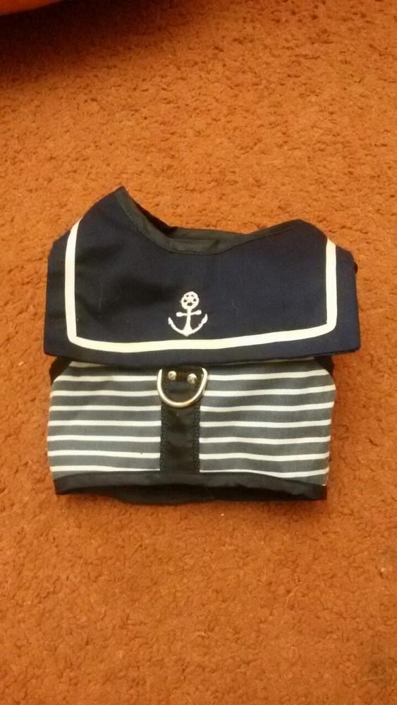 Попонка-шлея морячок фото №1