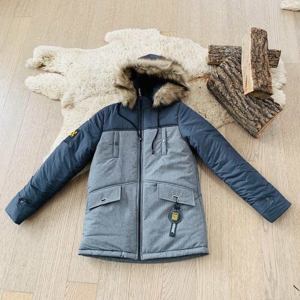 Зимняя куртка на мальчика 11-15 лет, 3030 фото №1