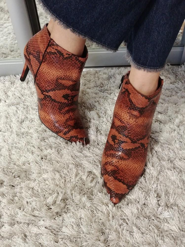 Р.36;37;38;39.модельні черевички vanessa від andre нат.шкіра. фото №1