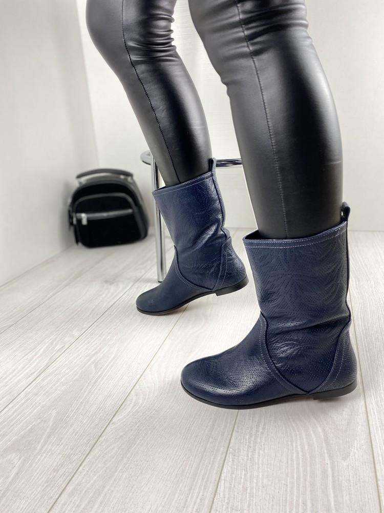 Женские демисезонные ботинки от тм nivelle натуральная кожа фото №1