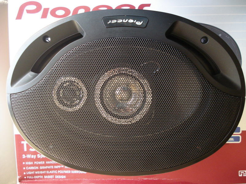 Автоакустика 6х9 pioneer 6942 1200w фото №1