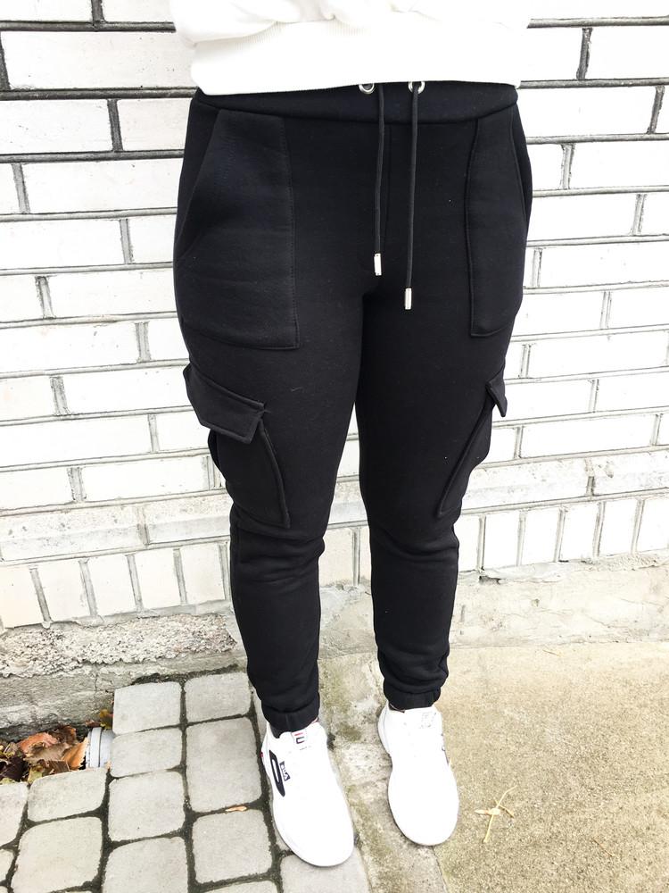Теплі жіночі штани фото №1