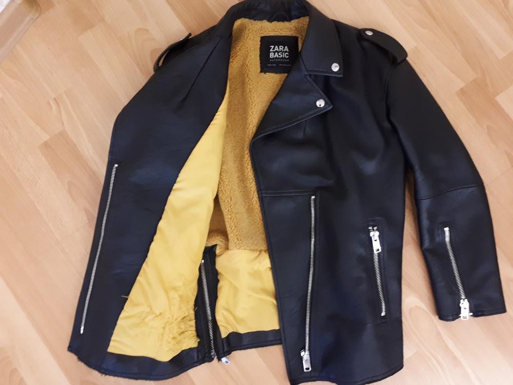 Теплая курточка zara! фото №1