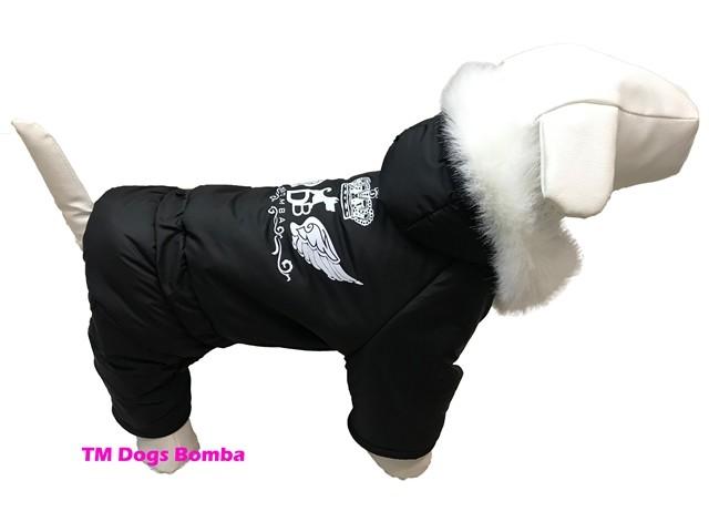 Зимний комбинезон для собак a-46 фото №1