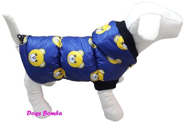 Зимняя жилетка для собак g-14 фото №1