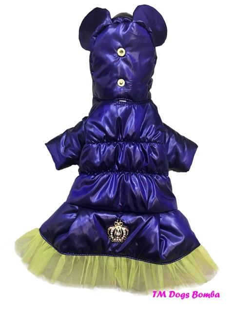 Зимняя куртка для собачек k-36 фото №1