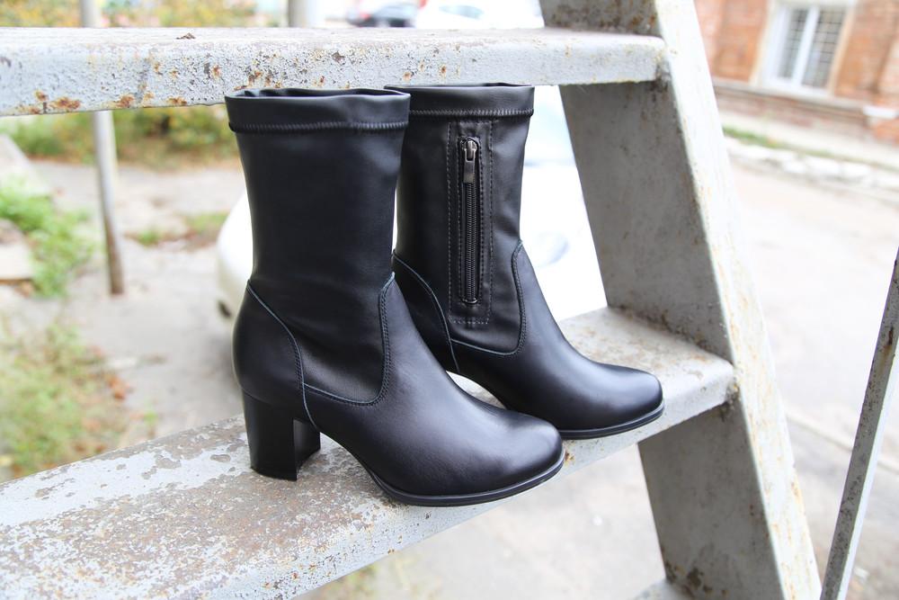 Элегантные ботиночки (ботильоны) из натуральной кожи. размеры 36-40 фото №1