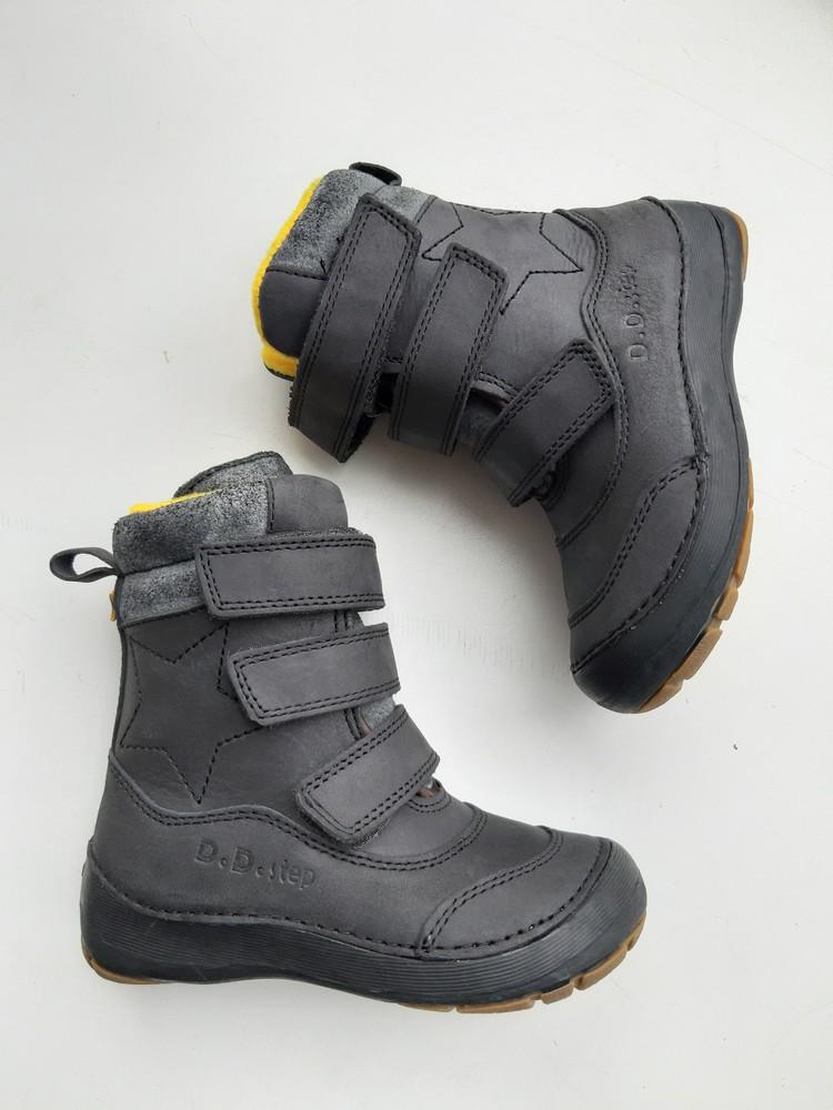 Высокие зимние ботинки мальчикам фото №1